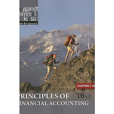 Principles of Financial Accounting Chapters 1-18, New Book (9781118009314)
