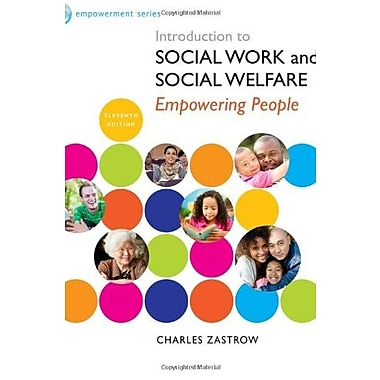 Brooks/Cole Empowerment Series: Introduction to Social Work and Social Welfare, New Book (9781285077178)