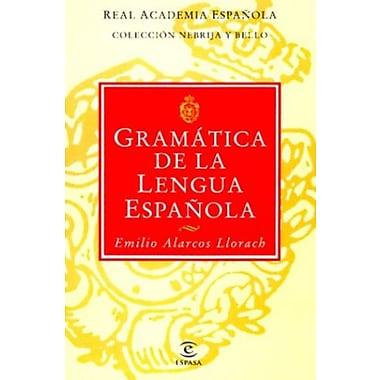 GramAitica de la Lengua EspaA+/-ola, (9788423978403)