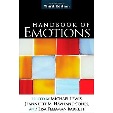 Handbook of Emotions, Third Edition, New Book (9781593856502)