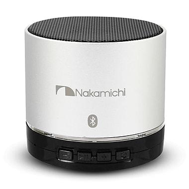 Nakamichi® BT06 Round Bluetooth Speaker, Silver