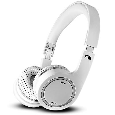 Nakamichi® BTHP03 On-The-Ear Bluetooth Headphones, White