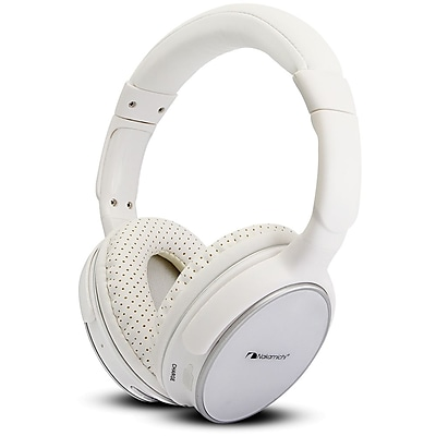 Nakamichi® BTHP11 On-The-Ear Bluetooth Headphones, White