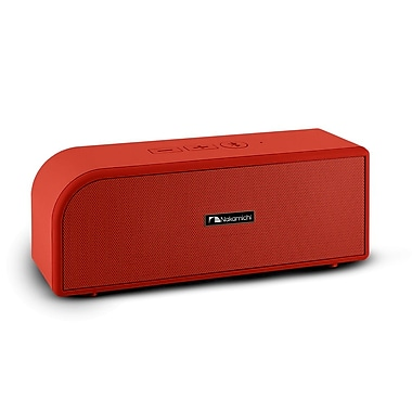 Nakamichi® BTSP12 Medium Size Portable Bluetooth Speaker, Red