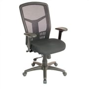 Storlie Ultra Mesh Desk Chair; Leather