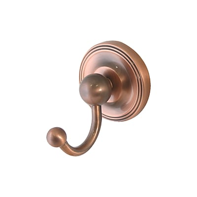 Allied Brass Universal Wall Mounted Utility Hook; Antique Bronze