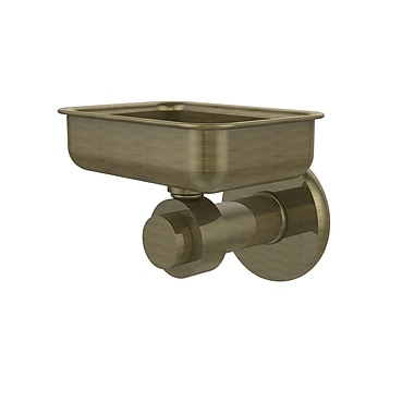 Allied Brass Waverly Place Soap Dish; Antique Brass