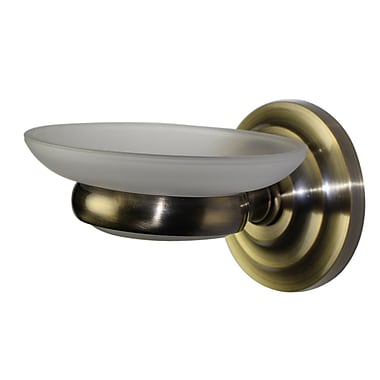 Allied Brass Universal Wall Mount Soap Dish; Polished Chrome