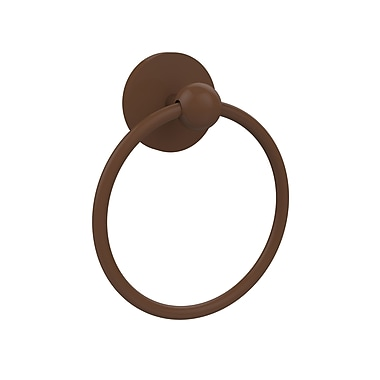 Allied Brass Skyline Wall Mounted Towel Ring; Antique Bronze