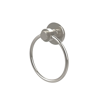 Allied Brass Universal Wall Mounted Towel Ring; Polished Nickel