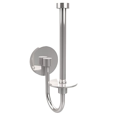 Allied Brass Skyline Wall Mounted Upright Toilet Tissue Holder; Polished Chrome