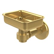 Allied Brass Continental Soap Dish; Polished Brass