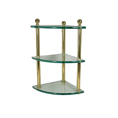 Allied Brass Universal Wall Shelf; Satin Nickel