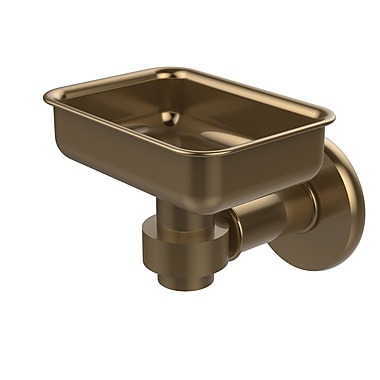 Allied Brass Continental Soap Dish; Brushed Bronze