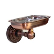 Allied Brass Dottingham Soap Dish; Polished Brass