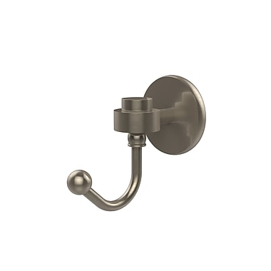 Allied Brass Satellite Orbit One Wall Mounted Robe Hook; Antique Pewter