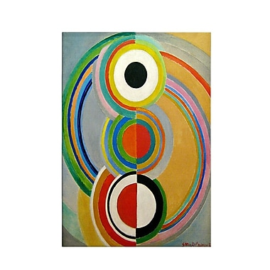 iCanvas Rythme 1938 by Sonia Delaunay Painting on Canvas; 26'' H x 18'' W x 0.75'' D