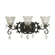 Framburg Liebestraum 3-Light Vanity Light; Brushed Nickel