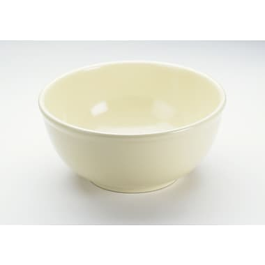 Cal-Mil Melamine 10'' Round Serving Bowl; Butter Yellow