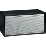 Paperflow Credenza; Black/Grey