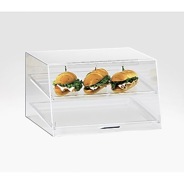 Cal-Mil Classic 2 Tray Stainless Steel Case