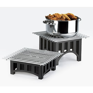 Cal-Mil Mission Bridge Square Stand w/ Grill