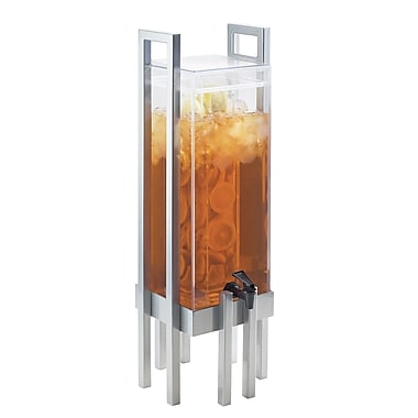 Cal-Mil One by One 3 Gal Beverage Dispenser; Silver