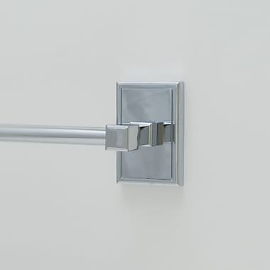Residential Essentials Hamilton 24'' Wall Mounted Towel Bar; Polished Chrome