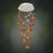 Allegri Marini 3-Light Waterfall Chandelier