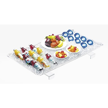 Cal-Mil Ice Display Tray; 3.5'' H x 54'' W x 24'' D