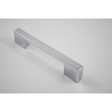Residential Essentials Bar Pull; Polished Chrome