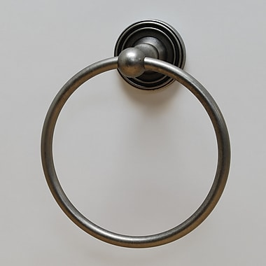Residential Essentials Bradford Wall Mounted Towel Ring; Aged Pewter