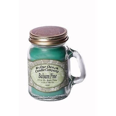 OOCC – Mini bougie au soya dans un pot Masson, parfum sapin baumier, paq./8