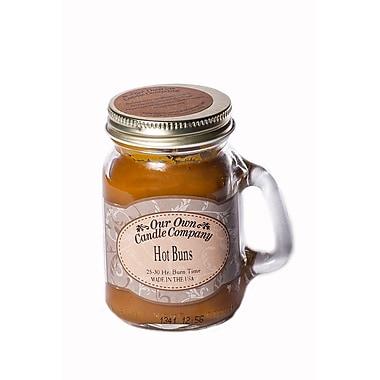 OOCC – Mini bougie au soya dans un pot Mason, parfum pains chauds, 8/paquet