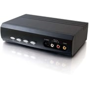 C2G 28750 S-Video/Composite Video/Stereo Audio Selector Switch