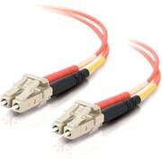 C2G 33031 16.4' Duplex Multimode Fiber Optic Cable, Orange