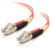 C2G 331 Duplex Multimode Fiber Optic Cables, Orange