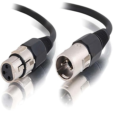 C2G 40061 25' XLR Male to XLR Female Audio Cable