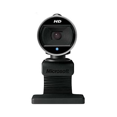 Microsoft Lifecam 6Ch-00001 Webcam, 30 Fps, USB 2.0