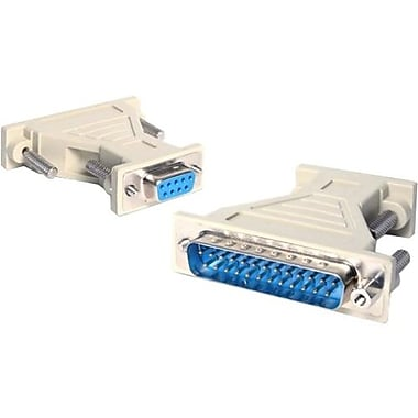 StarTech® Db9 To Db25 Serial Cable Adapter, F/M