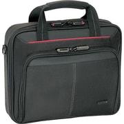 Targus – Étui de transport Cn31Us pour ordinateur portatif de 15,6 po, noir, rouge