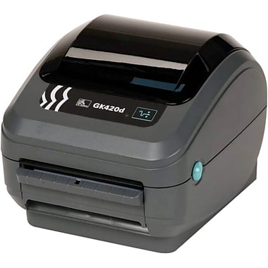 Zebra Gk420D Direct Thermal Printer, Monochrome, Desktop, Label Print (GK42-202210-000)