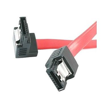 StarTech.com – Câble Serial ATA/SAS à angle droit LSATA12RA1, 12 po