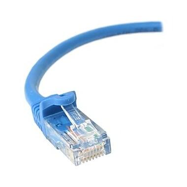 StarTechMD ® Câble de raccordement antiaccrochage N6PATCH7BL de catégorie 6, 7 pi, bleu