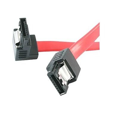 StarTech ® Câble Serial ATA/SAS à orientation vers la droite SATA12RA1, 12 po