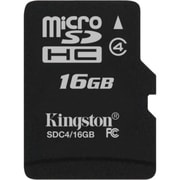 Kingston Sdc4/16GBsp 16GB Microsd High Capacity (Microsdhc)