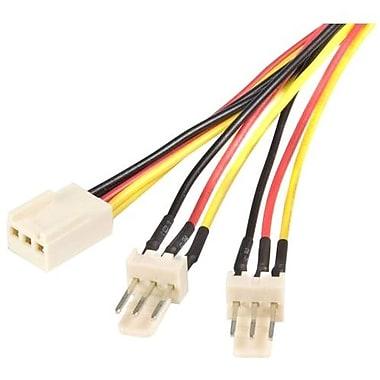 StarTech ® Câble répartiteur d'alimentation pour ventilateur TX3SPLIT12