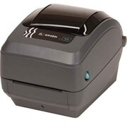 Zebra – Imprimante de bureau à transfert thermique GX430t, monochrome, impression d'étiquettes (GX43-102412-000)