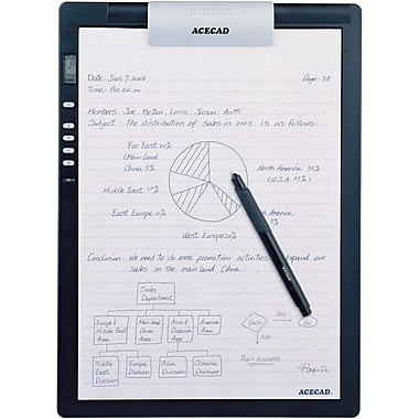 Solidtek – Bloc-notes numérique Acecad Digimemo Dm-L2