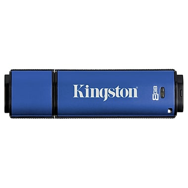 Kingston 8GB Datatraveler Vault Privacy 3.0 USB 3.0 Flash Drive (DTVP30AV/8GB)